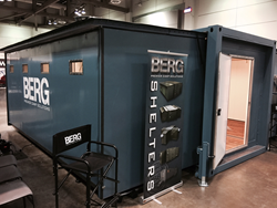 Premiere, military-grade shelter unit available for the commercial mining, manufacturing and exploration industries.