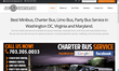 ADC Bus Charter Offers 15-40 Passengers Limo Bus Service!