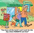 restaurant cartoons