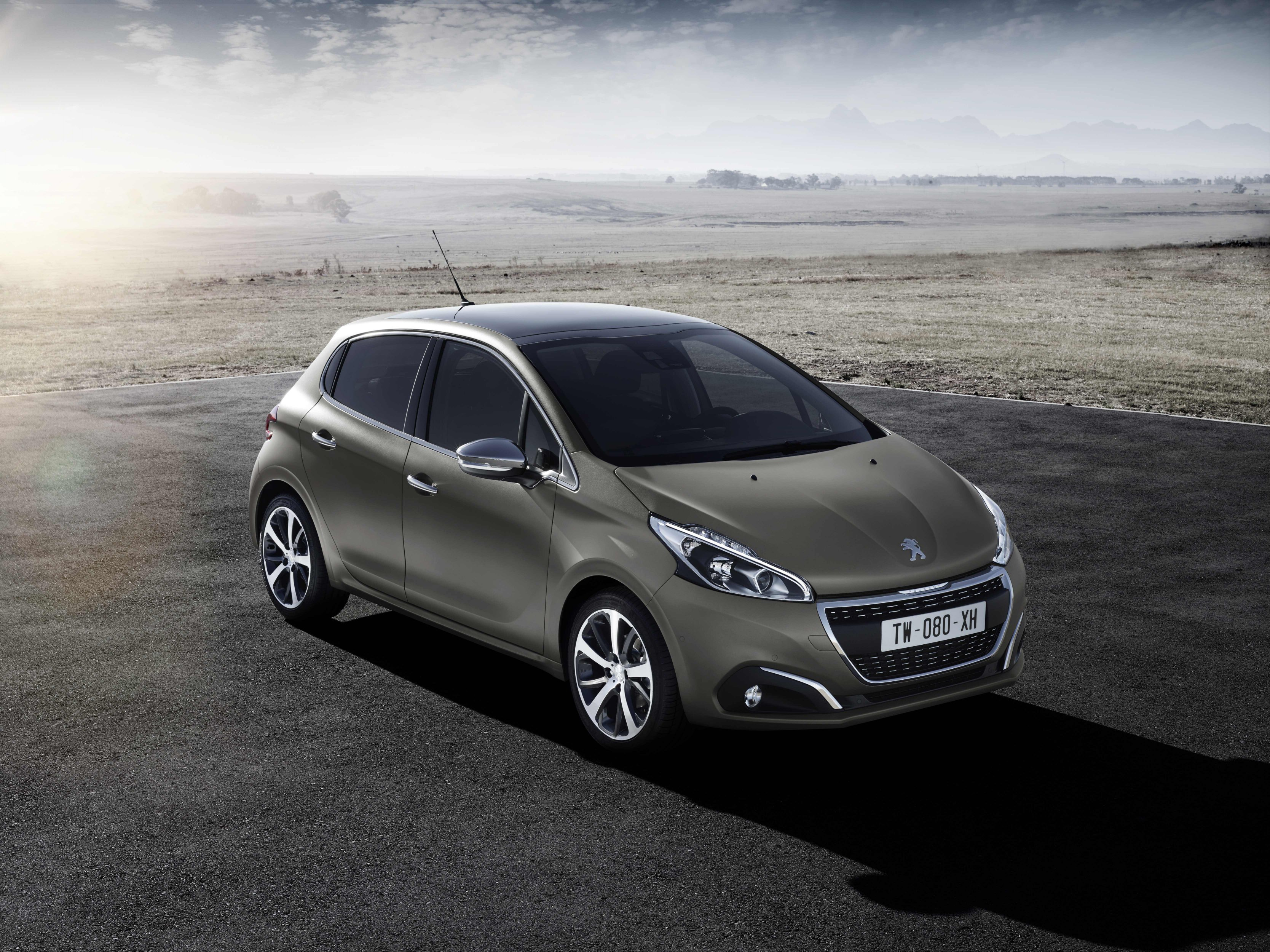 New Peugeot 208 A Splash Of Style With Innovative World First
