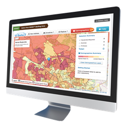EDDM® USPS® Mapping Tool