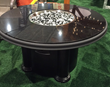 Absolute Black Grand Colonial Gas Fire Pit Table