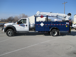AmeriGas has added 50 new ROUSH CleanTech Ford F-550s equipped with cranes to their fleet.