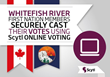 Whitefish River First Nation Members Securely Cast their Vote Using Scytl Online Voting