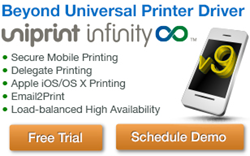 UniPrint Infinity v9 is the next-generation enterprise print management solution for secure mobile printing. Visit www.uniprint.net for more info or free trial.