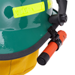 Fire Helmet Rear View