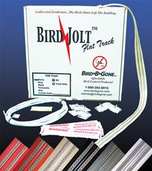 bird jolt flat track bird deterrent