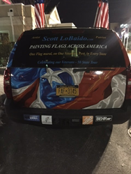 "CitiQuiet Sponsors ""Painting Flags Across America"""