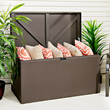 Designer Series Storage Chest with Lid Open - 116 gallons of storage space for a variety of storage needs.