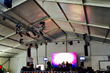 American Pavilion Installs 15,000 Square Foot Tent To House Final Four...