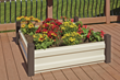 Spacemaker Raised Bed Garden is perfect for flowers, herbs, fruit, and vegetable gardening.
