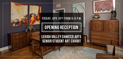 Bethlehem House Gallery to host the Lehigh Valley Charter Arts Senior Student Art Exhibit