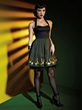 Part of the Marvel by Her Universe collection designed by last year's fashion show winner, Amy Beth Christenson, with Her Universe, is this Loki Halter Dress available next month at Hot Topic.