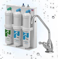 3-Stage Under-Counter Drinking Water Filter