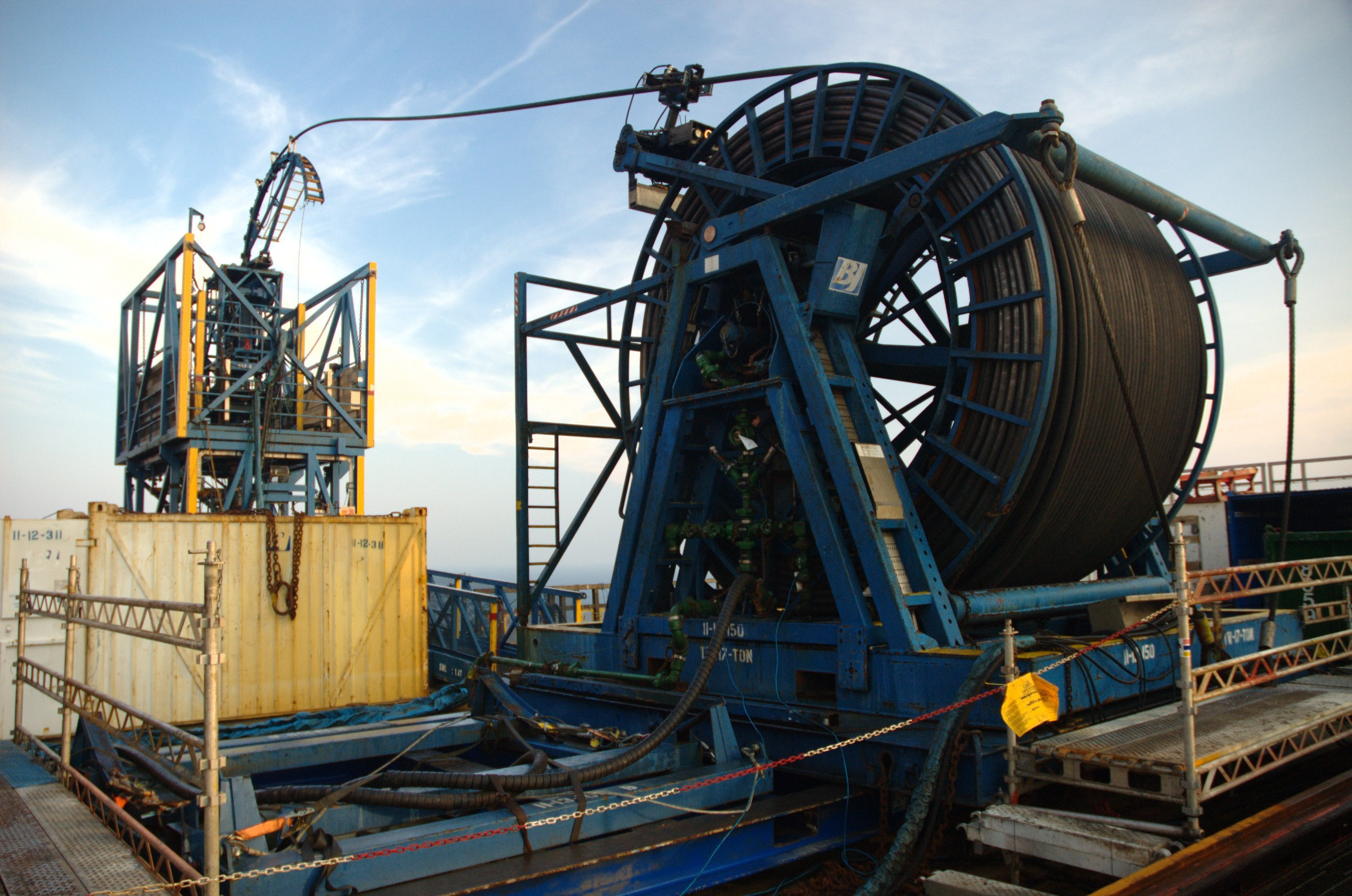 Coiled Tubing Services Texas : Proone introduces revolutionary pipe on treatment