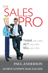 Cover image of The Sales Pro by Paul Anderson