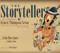 Cover of The Storyteller by Leila Moss Knox