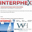 Whitehouse Laboratories Invited to Participate in INTERPHEX Live...