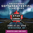 SQE/TechWell Announces the STARCANADA 2015 Software Testing Conference