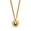 Julie Vos Jewelry Necklace in Labradorite set in 24K Gold Plate
