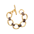Julie Vos Jewelry Bracelet in 24K Gold Plate