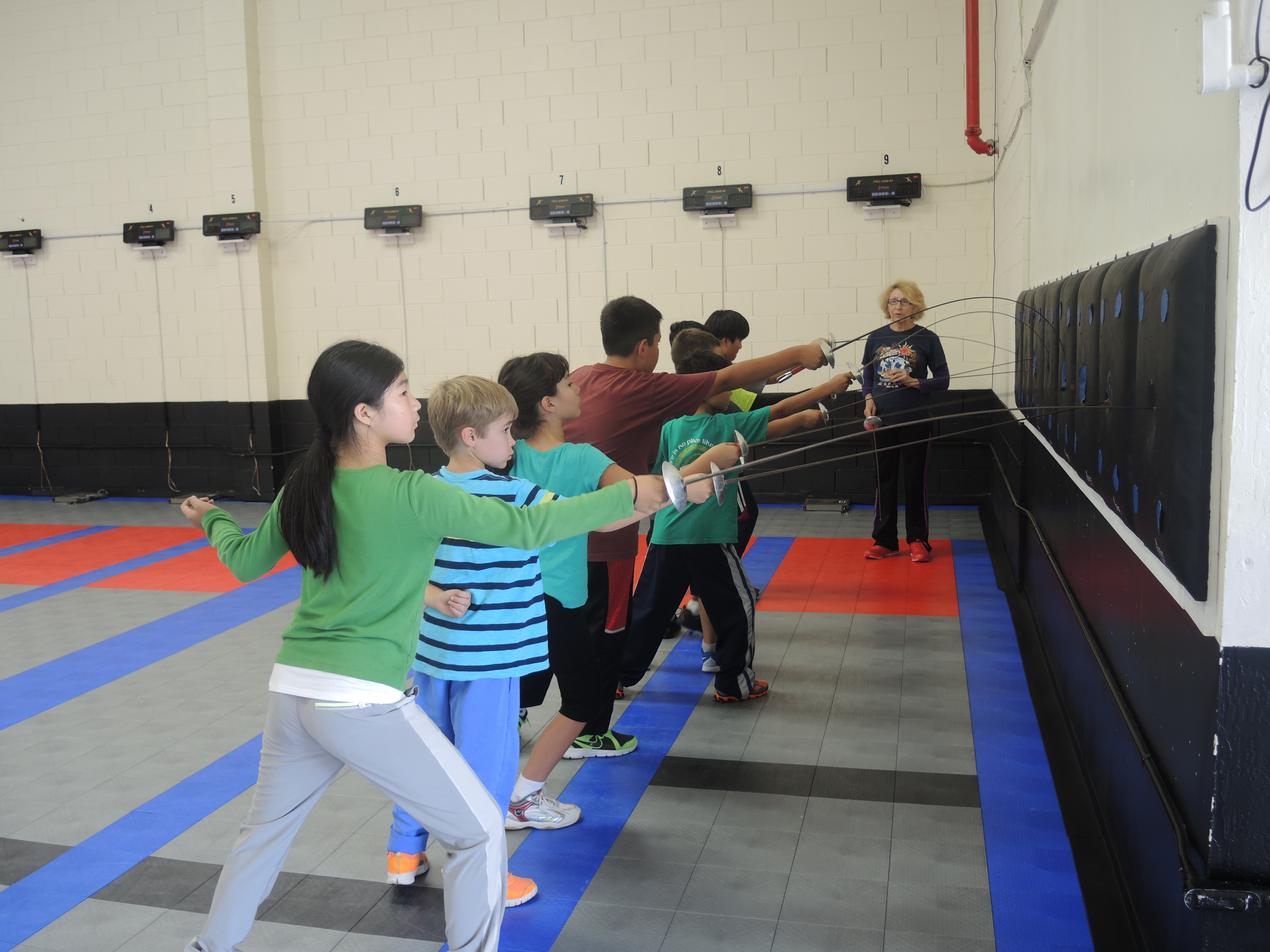 Academy Of Fencing Masters Offers A Creative Way To Keep