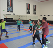 AFM Summer Beginner Fencing Camp - development games during the camp