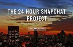 The 24 Hour Snapchat Project