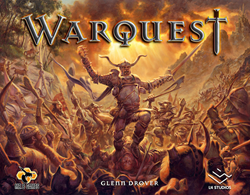 WarQuest Board Game Cover