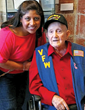 Creekside resident Verner Lathrop to become oldest veteran ever to take Houston Honor Flight