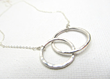 Infinity Link Necklace from Little Hill Jewelry