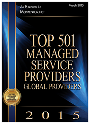 Top 501 MSP's Global Providers
