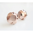 Rose Gold Crystal Studs from LoveYourBling