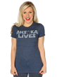 Traveling to Star Wars Celebration? Don't miss Ahsoka Lives Day! You'll want to wear this uni-sex shirt celebrating the return of Ahsoka on Star Wars Rebels.