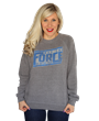 "It is one of the most famous lines in movie history. Proudly display your Star Wars passion with this ""May The Force Be With You"" pullover."