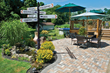 A personalized enhancement and focal point for any garden or patio.