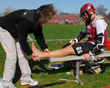 Shin pain is the most common overuse injury in adolescent sports