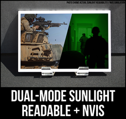 sunlight readable NVIS LCD