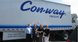 Con-way Freight teams up with Kids Wish Network to deliver joy to kids