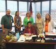 Albany Mayor Dorothy Hubbard and Easter Seals Southern Georgia Met to Proclaim April is Autism Awareness Month