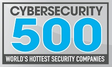 Logo for CyberSecurity 500 World's Hottest Secuirty Companies