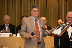 Dr. Amadei Accepts the Washington Award