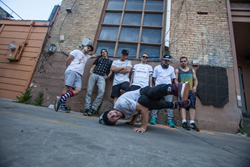 Frosti, Jesse La Flair, Jason Paul, Giles, Cory DeMeyers, Kirkland, Pasha the Boss
