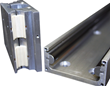 All Aluminum body, Rails and Carriage combined with Stainless Steel Components for corrosion resistance.