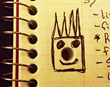 Powered By Spike Notebook Hole Doodle