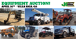 Public Car and Equipment Auction, Atlanta, April 16, 2015