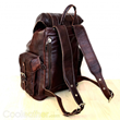 Handmade Leather Travel Backpack
