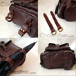 Handmade Leather Travel Backpack Functions