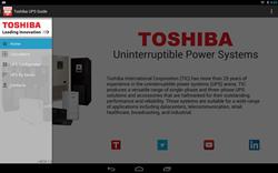 Toshiba UPS App Screenshot