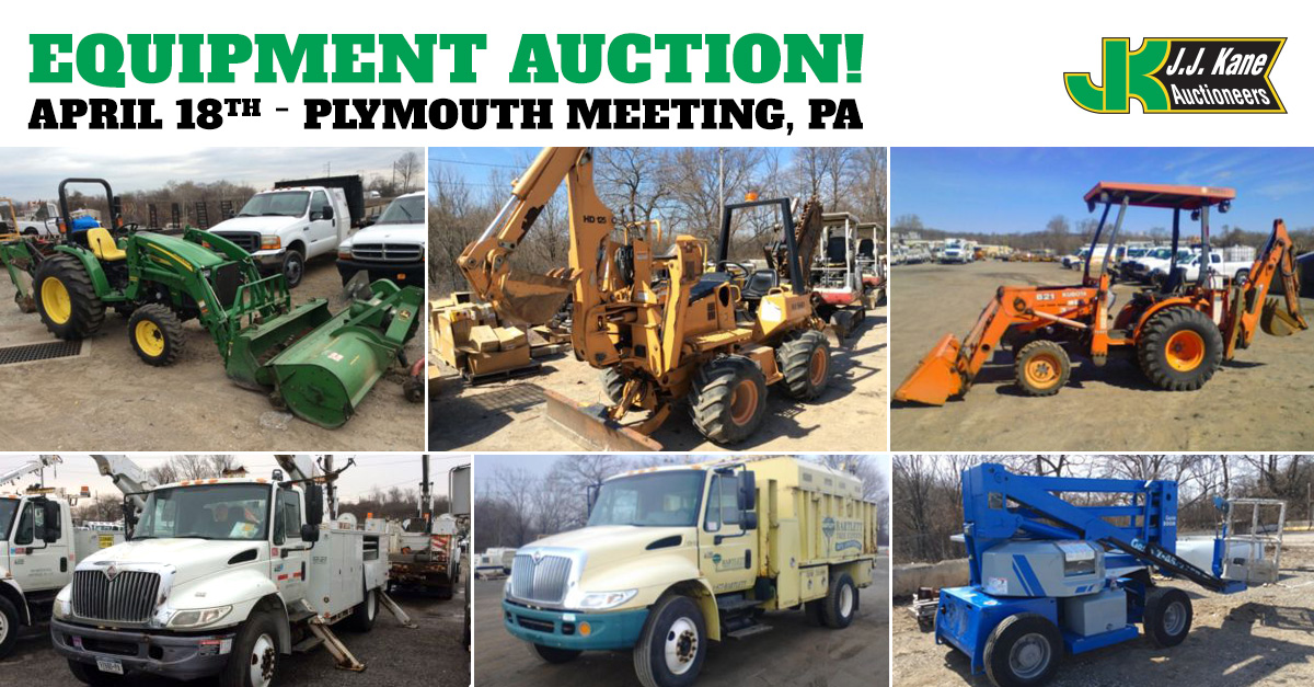 Public Car And Equipment Auction Philadelphia April 18 2015
